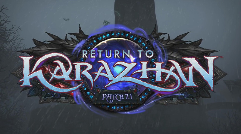 WoW : Patch 7.1 Retour à Karazhan