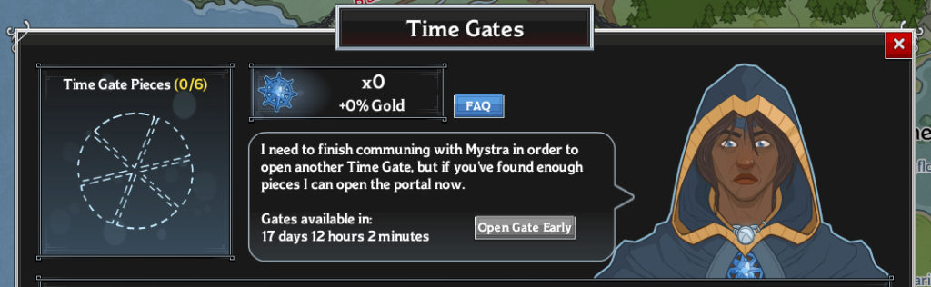 idle champions time gate